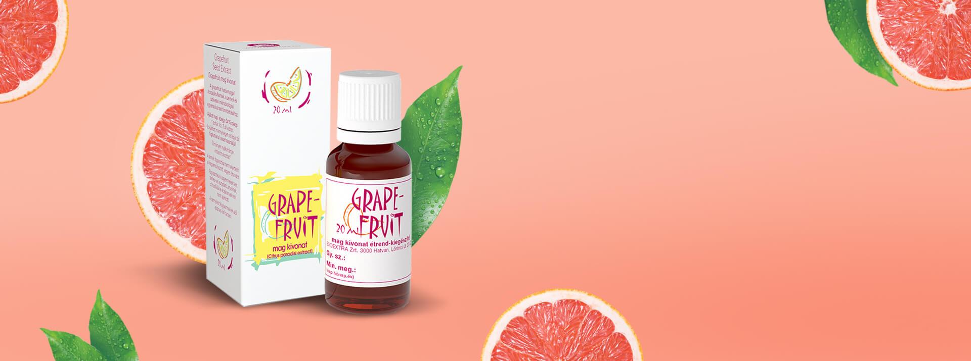 Valódi grapefruit, igazi erő!